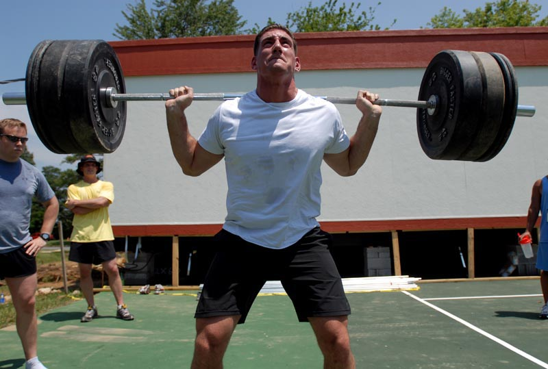CrossFit is suited to fit the needs of every individual, from