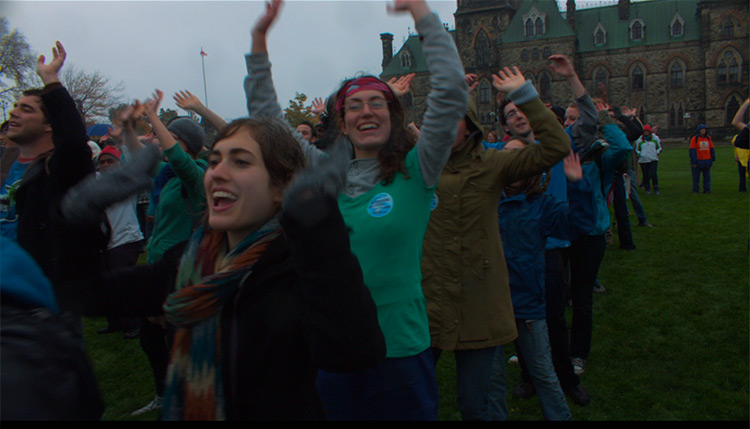 Young people from across the country converging on Parliament Hill to promote their cause