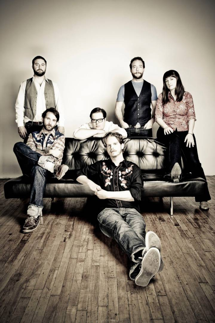 The Strumbellas Couch Photo - photo credit Heather Pollock