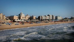 The seaside resort of Scheveningen with the famous Steigenberger Kurhaus Hotel PHOTO: PIERRE CROM