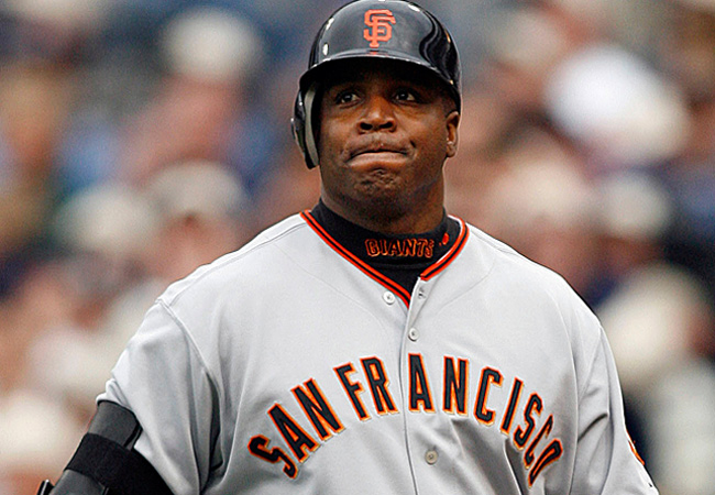 Barry Bonds currently holds baseball's all-time record for career home runs.