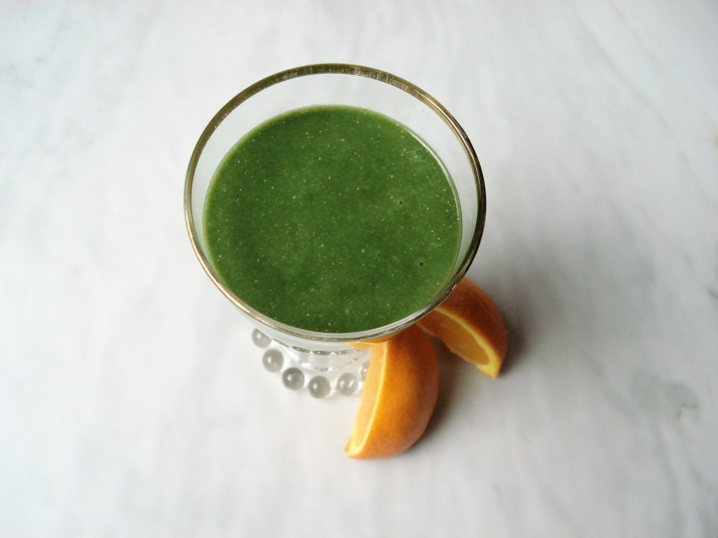 Anti-Inflammatory Orange Avocado Chia Smoothie 004