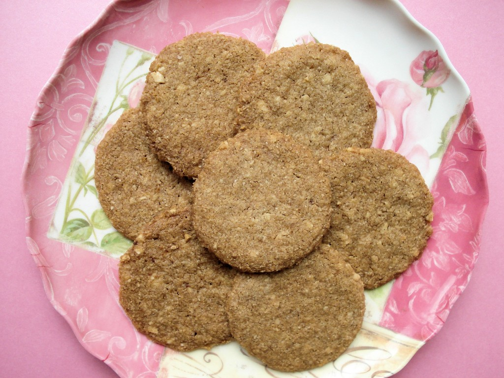 Cinnamon Almond Butter Cookies 001