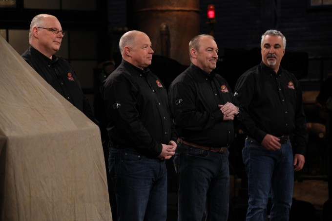 HogsBack on Dragons' Den 1