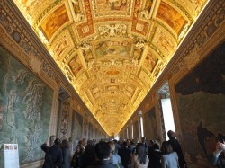 Rome-Vatican-Room of Maps