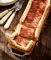 Easy Red Prince Apple Tart