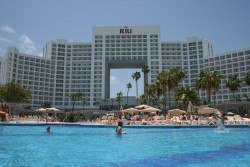 The RIU Palace Peninsula, Cancun.