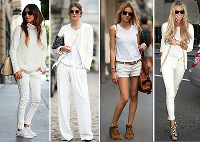 White Out Street Style