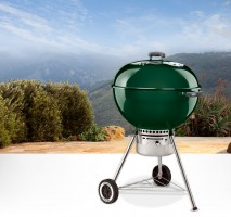 A classic charcoal grill.