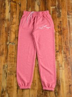 Lazypants Pink French Fleece Sweatpants