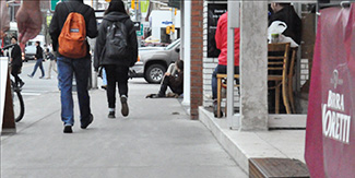 Every fourth homeless person in Canada is a youth under 25-years old.