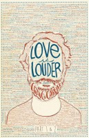 writing on face - love is louder - craig cardiff