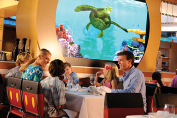 ANIMATOR'S PALATE UNDERSEA MAGIC SHOW ON THE DISNEY DREAM