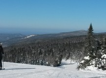 The view from atop Mont Tremblant.