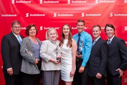 The 2015 Scotiabank EcoLiving Awards winners. Photo credit: Thomas Lee.