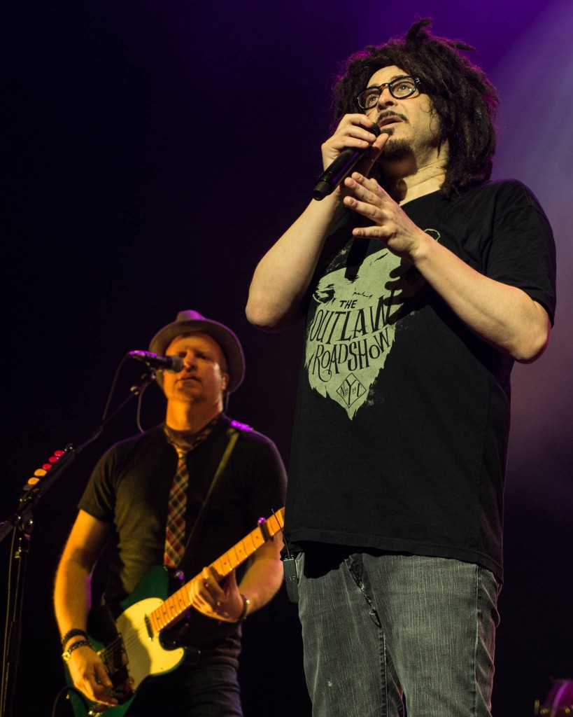 Lead singer Adam Duritz of the Counting Crows performs in Ottawa at the National Arts Centre, May 17, 2015