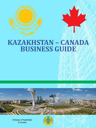 Kazakhstan - Canada Business Guide - Cover