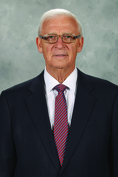 OTTAWA, CANADA - SEPTEMBER 18: Bryan Murray of the Ottawa Senators poses for his official headshot for the 2014-2015 season on September 18, 2014 at Canadian Tire Centre in Ottawa, Ontario, Canada. (Photo by Jana Chytilova/NHLI via Getty Images) *** Local Caption *** Bryan Murray