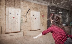 Relax Like a Lumberjack at Bad Axe Throwing Ottawa