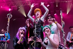 The Peptides performing at FUSE Festival. Photo by Andre Gagne.