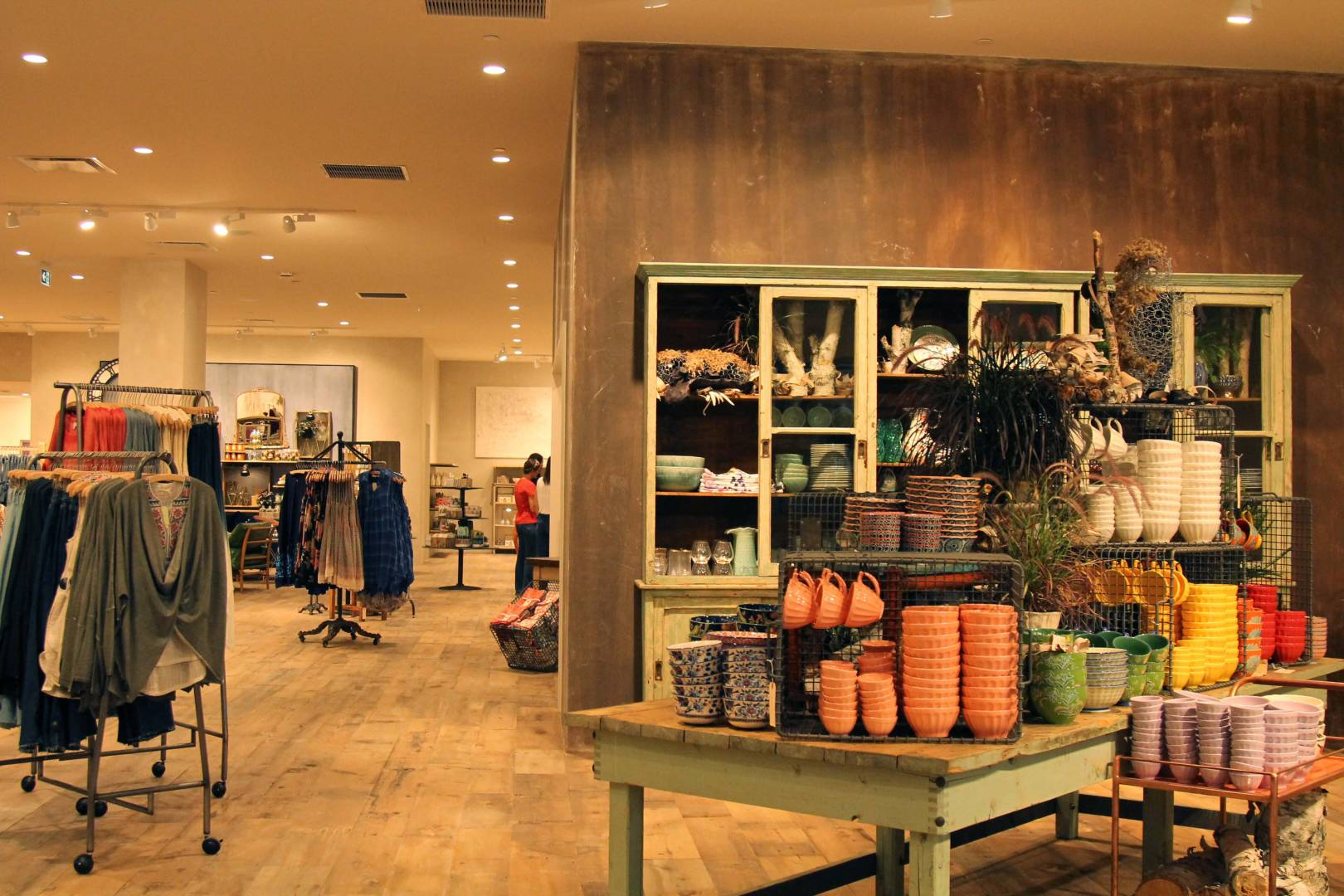 Anthropologie is something to get excited about.