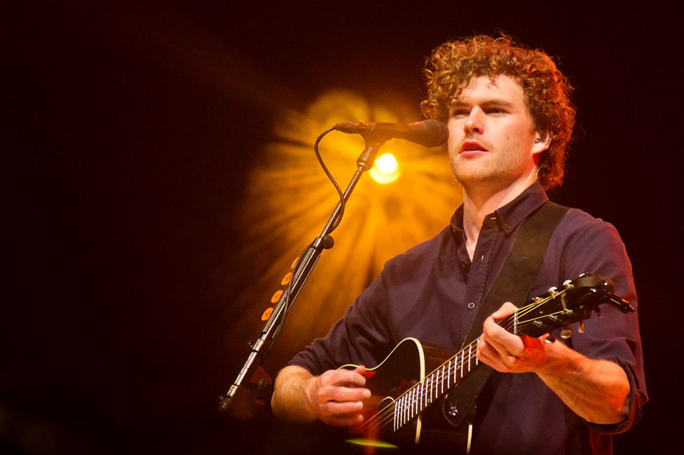 Vance Joy somehow stopped the rain for his Saturday night CityFolk show.