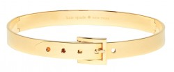 Kate Spade Gold Buckle Collar Necklace $228